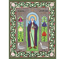 Icon of St. Hilda Photographic Print
