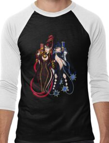 Bayonetta - Umbra Witch - B Men's Baseball ¾ T-Shirt