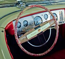 1941 Chrysler Newport Dual Cowl Phaeton Steering Wheel by Jill Reger