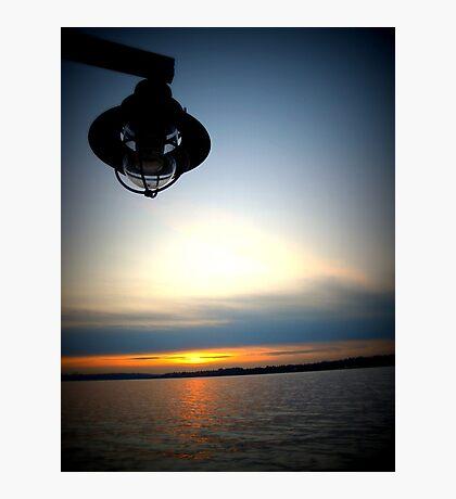 Lomography Sunset Photographic Print