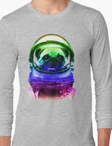 Pug-Stronaut Long Sleeve T-Shirt