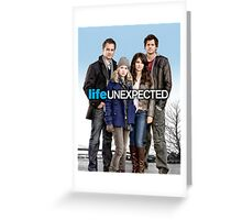 Life Unexpected Design Greeting Card