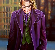 The Joker painting by PaulMeijering
