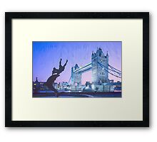 LONDON_View 103 Framed Print