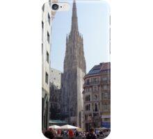 St. Stephen's Plaza, Vienna, Austria iPhone Case/Skin