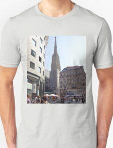 St. Stephen's Plaza, Vienna, Austria T-Shirt