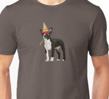 Boston Terrier Birthday Unisex T-Shirt