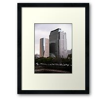 Osaka Museum of  History, Japan Framed Print