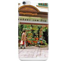 flower shop, Vienna, Austria iPhone Case/Skin