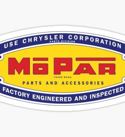 Old MoPar logo Sticker