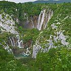 Veliki Slap,  Plitvice National Park, Croatia by Margaret  Hyde