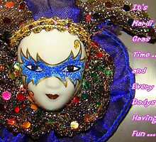 It's Mardi Gras Time by Wanda Raines