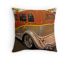 Street Rod Sedan Throw Pillow