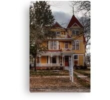 1895 Tarlton House Canvas Print