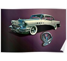 1955 Buick Century Poster