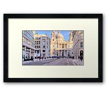 LONDON_View 105 Framed Print
