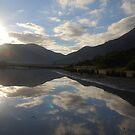 Sunrise Reflection Tidal River by Catherine Davis