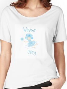 Winter fairy. Women's Relaxed Fit T-Shirt