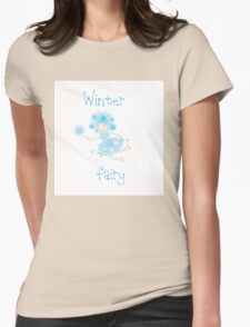 Winter fairy. Womens Fitted T-Shirt