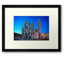 Siena's Duomo Framed Print