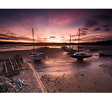 Beadnal Harbour Sunset Photographic Print