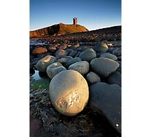 Dunstanbrough Castle Photographic Print