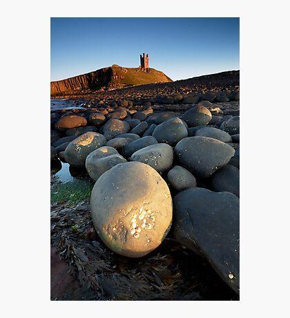 Dunstanbrough Castle Photographic Print