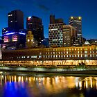 Twighlight in Melbourne by Paul Oliver