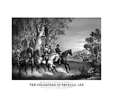 The Surrender Of General Lee  Photographic Print