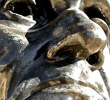 Nose To Nose With Rodin by Scott Johnson