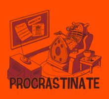 PROCRASTINATE! (Orange) by Bamboota