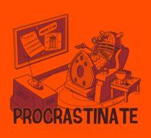 PROCRASTINATE! (Orange)