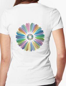 Rainbow Flower T Shirt T-Shirt
