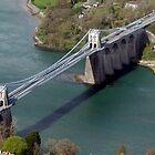Menai Suspension Bridge by steveransome