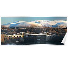 The Menai Bridge  Poster