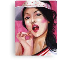 Song Hye Kyo Canvas Print