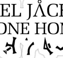Stargate - Daniel Jackson Phone Home Sticker