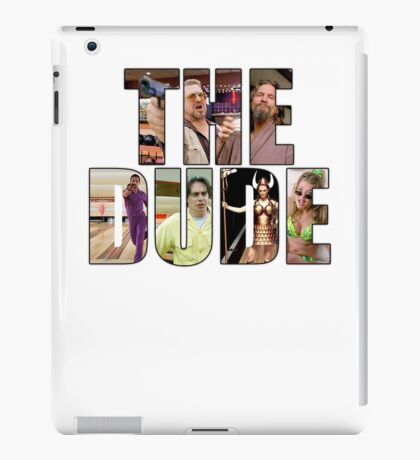 "The Big Lebowski ""The Dude"" iPad Case/Skin"