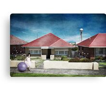 Warrnamball Canvas Print