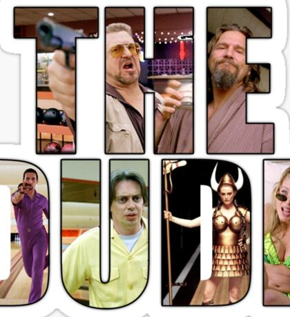"The Big Lebowski ""The Dude"" Sticker"