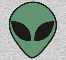 Alien  head by mafaldamaria