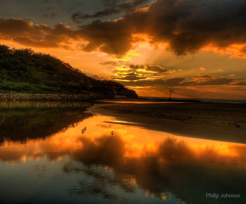 Golden Wedding - Narrabeen Lakes Entrance, Sydney - The HDR Experience by Philip Johnson