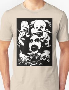 Horror Clown Icons T-Shirt