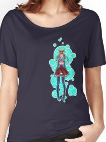Bubbles and Hearts Women's Relaxed Fit T-Shirt