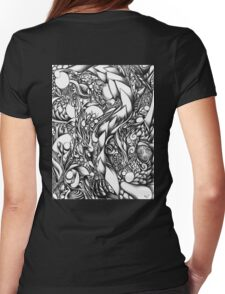 Doodle 1- Life Womens Fitted T-Shirt