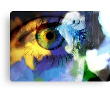 Sunflower eye Canvas Print