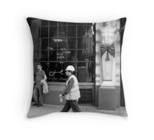Hard Hats, Piccadilly Throw Pillow