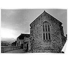 Tiny Mediaeval Chapel in Somerset Poster