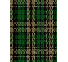 00410 Brown Watch Tartan Photographic Print