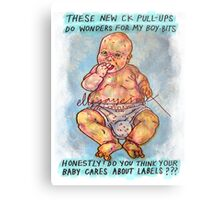 Pregnancy: Honestly, Do You Think Your Baby Cares About Labels? Metal Print